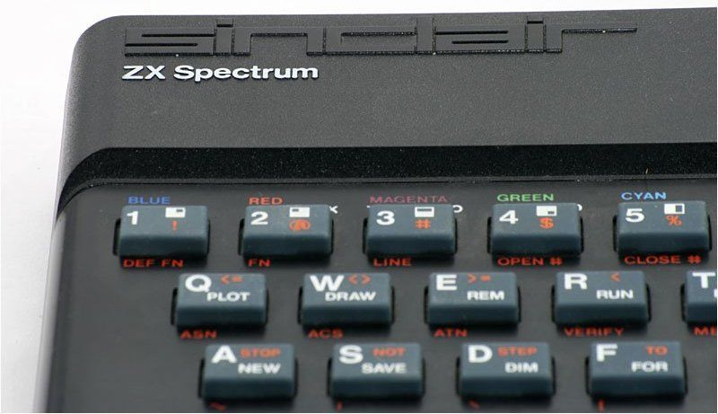 PHOTO OF ZX SPECTRUM 48K COMES FROM A FINE PORTAL www.old-computers.com